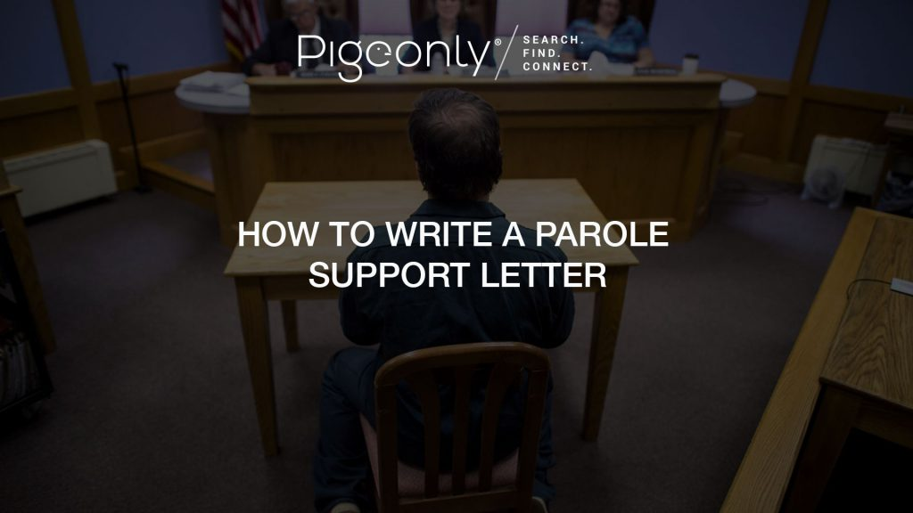 How To Write A Parole Support Letter Pigeonly